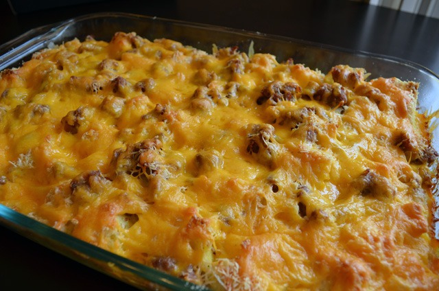 Delicious Hearty Hash Brown Casserole Recipe What The Fab