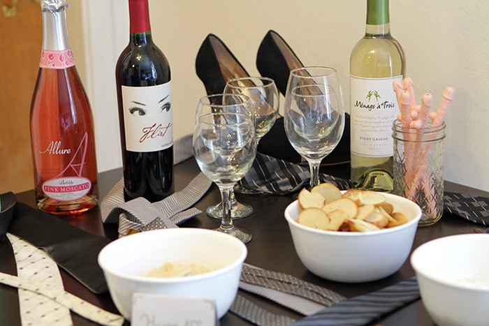 50 shades of grey themed food - How to throw a 50 shades of grey bachelorette party by popular San Francisco lifestyle blogger What The Fab
