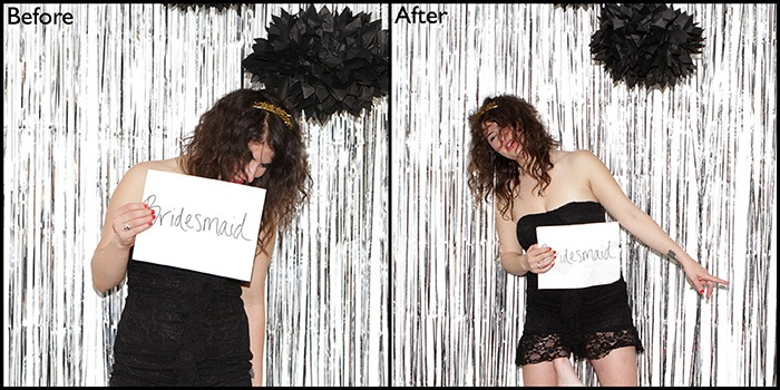 How to throw a 50 shades of grey bachelorette party by popular San Francisco lifestyle blogger What The Fab