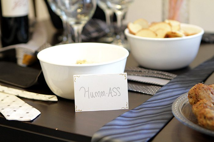 food for 50 shades of grey bachelorette party - How to throw a 50 shades of grey bachelorette party by popular San Francisco lifestyle blogger What The Fab