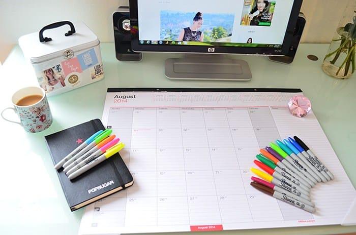 blogger editorial calendar
