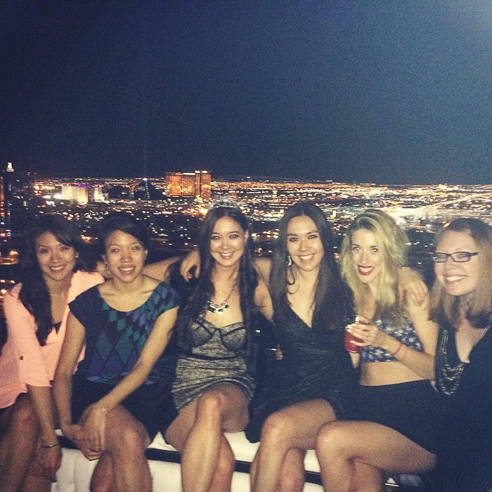 Vegas Bachelorette Party by popular San Francisco travel blogger What The Fab