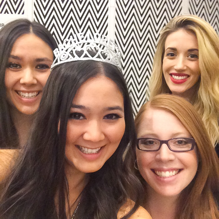 Wedding Wednesday: Vegas Bachelorette Party