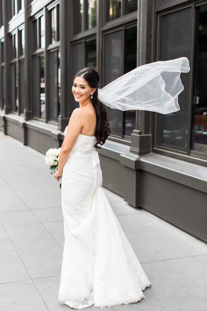 fashion blogger wedding