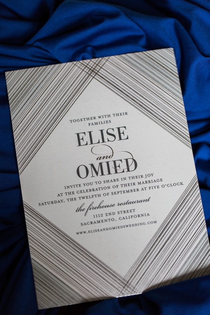 silver wedding invites
