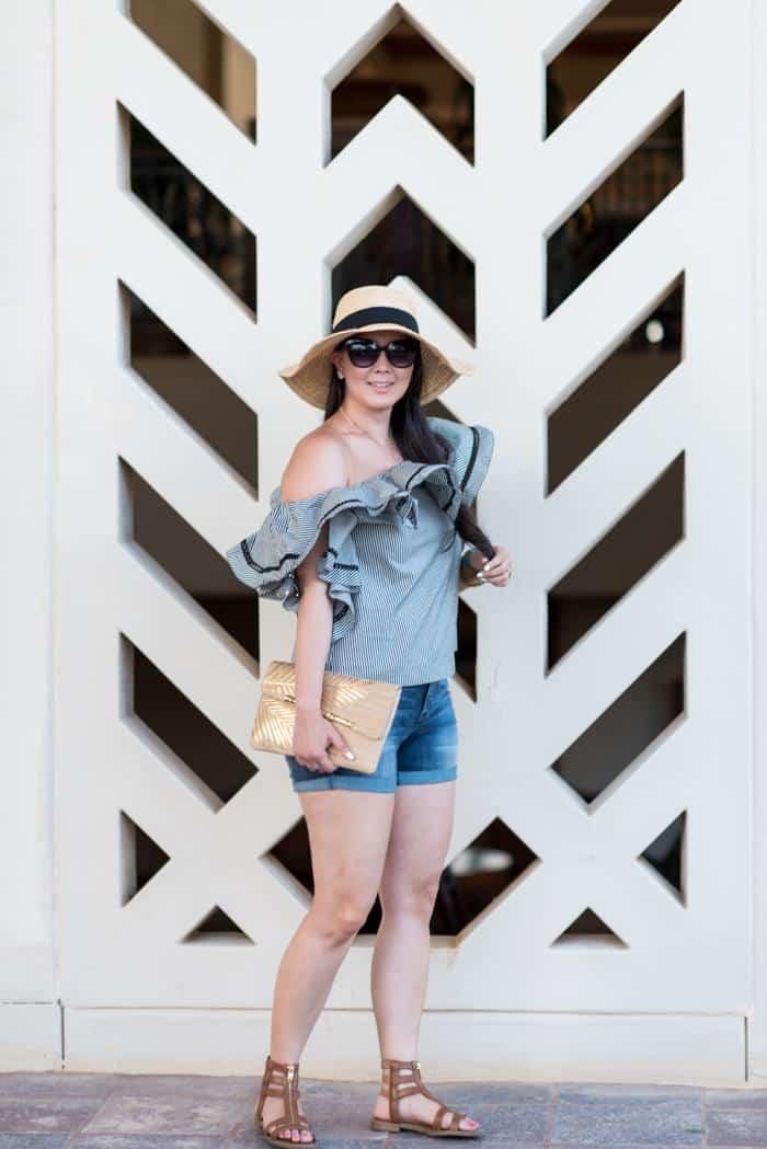 travel blogger style