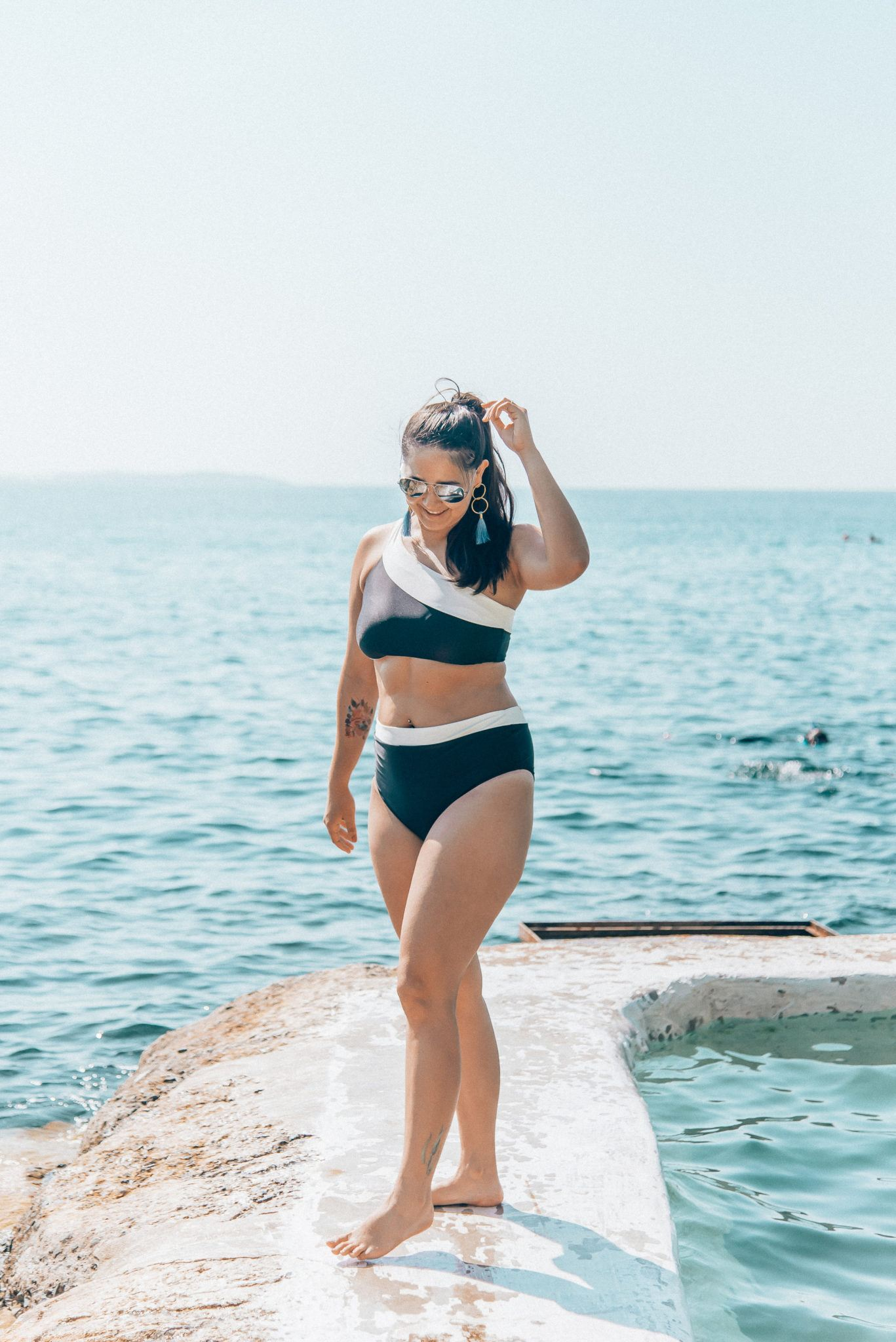 Summersalt Swimwear featured by popular San Francisco fashion blogger, What The Fab