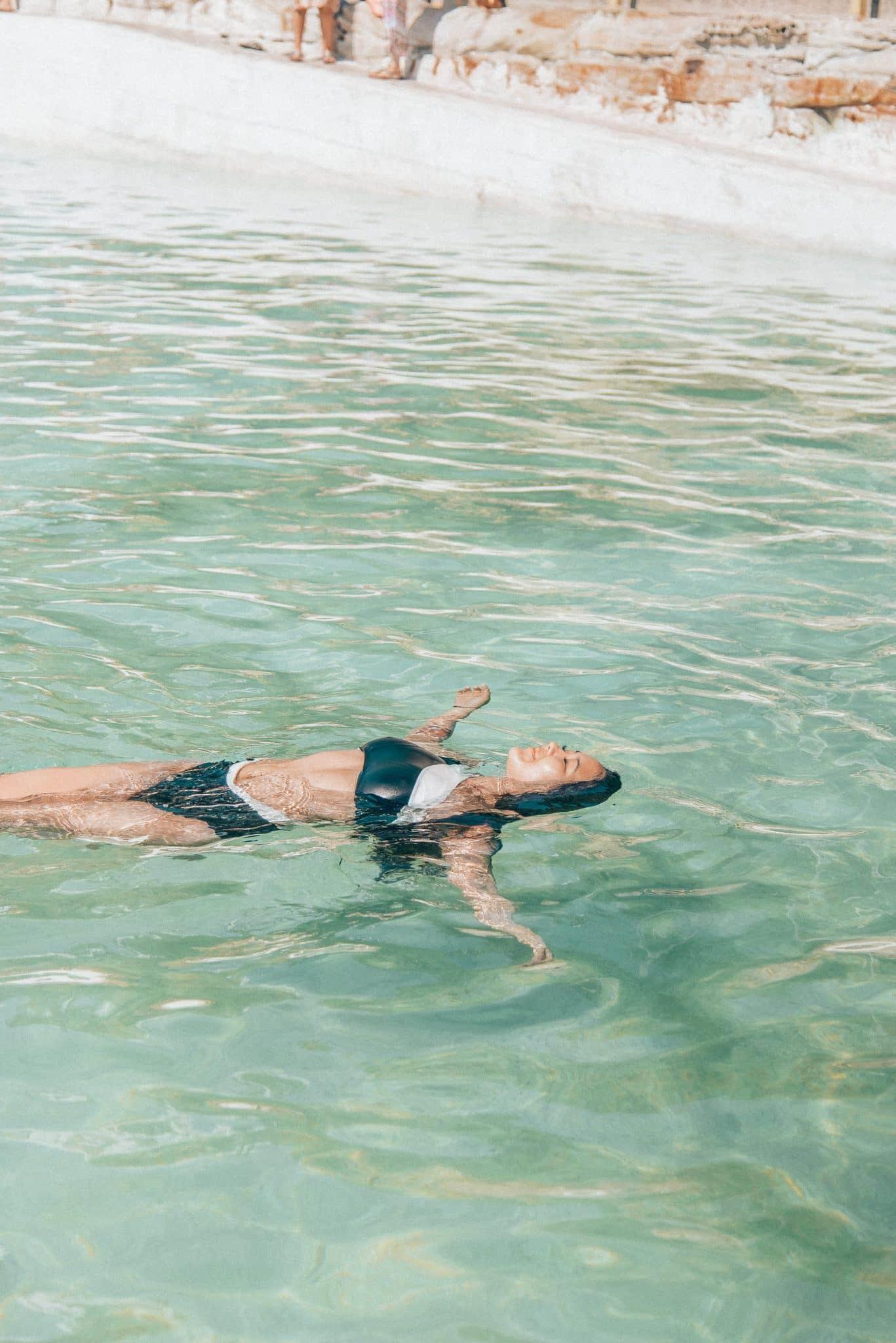 Summersalt Swimwear featured by popular San Francisco fashion blogger, What The Fab