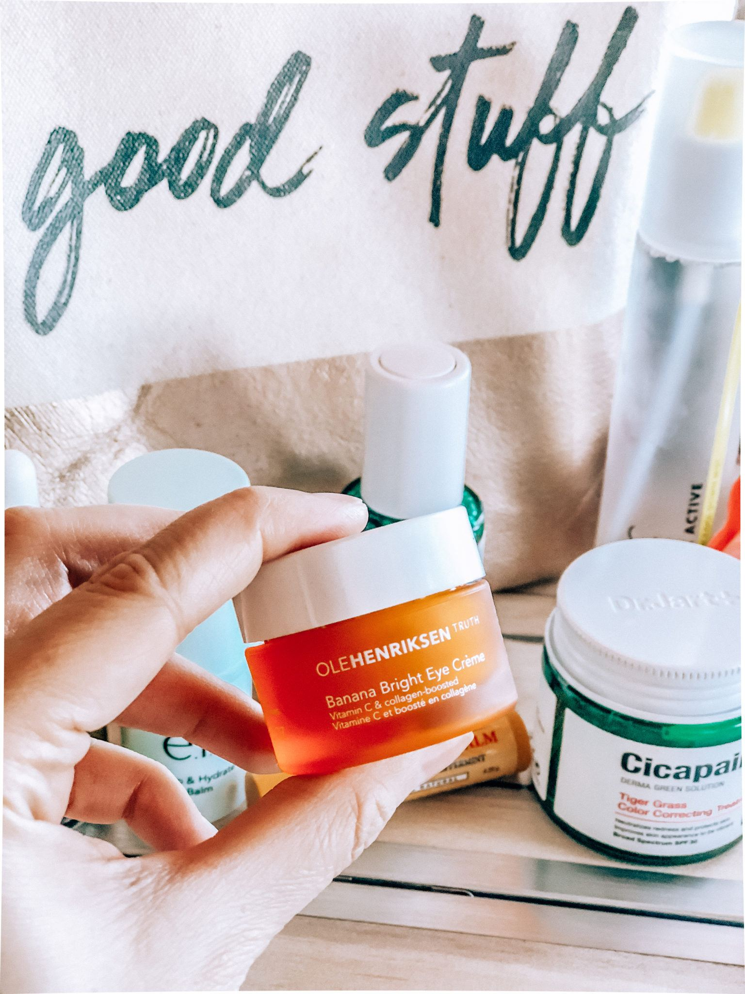 airplane beauty essentials by popular San Francisco travel blogger, What The Fab