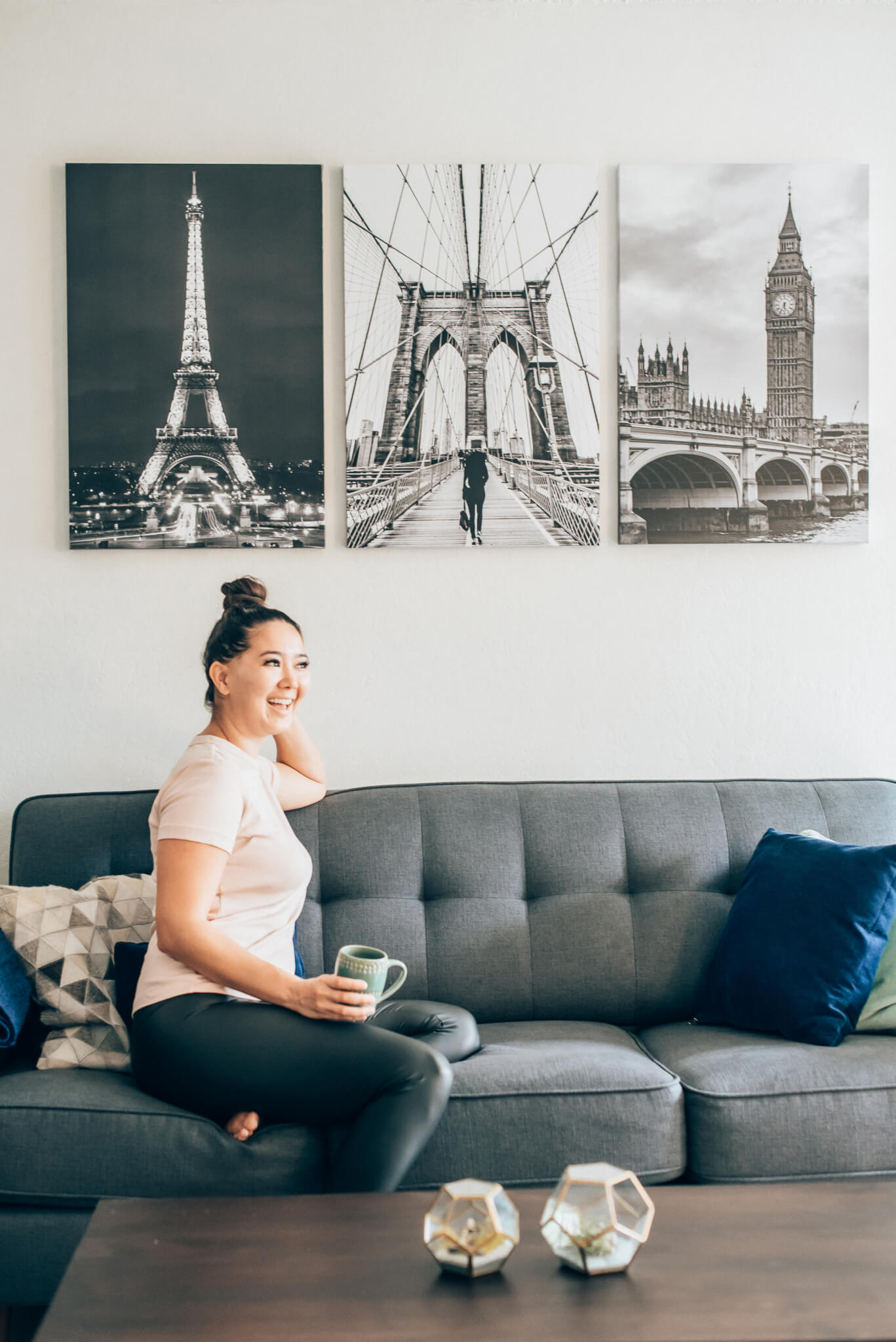 Decorating our home with canvas prints from Mixbook by popular San Francisco lifestyle blogger, WTFab