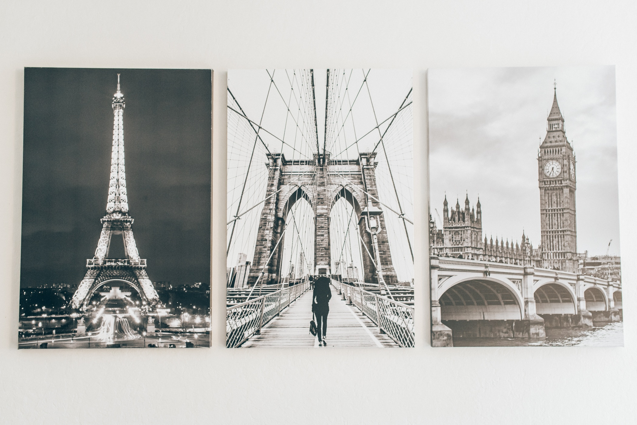 Mixbook Review: Decorating our home with canvas prints from Mixbook
