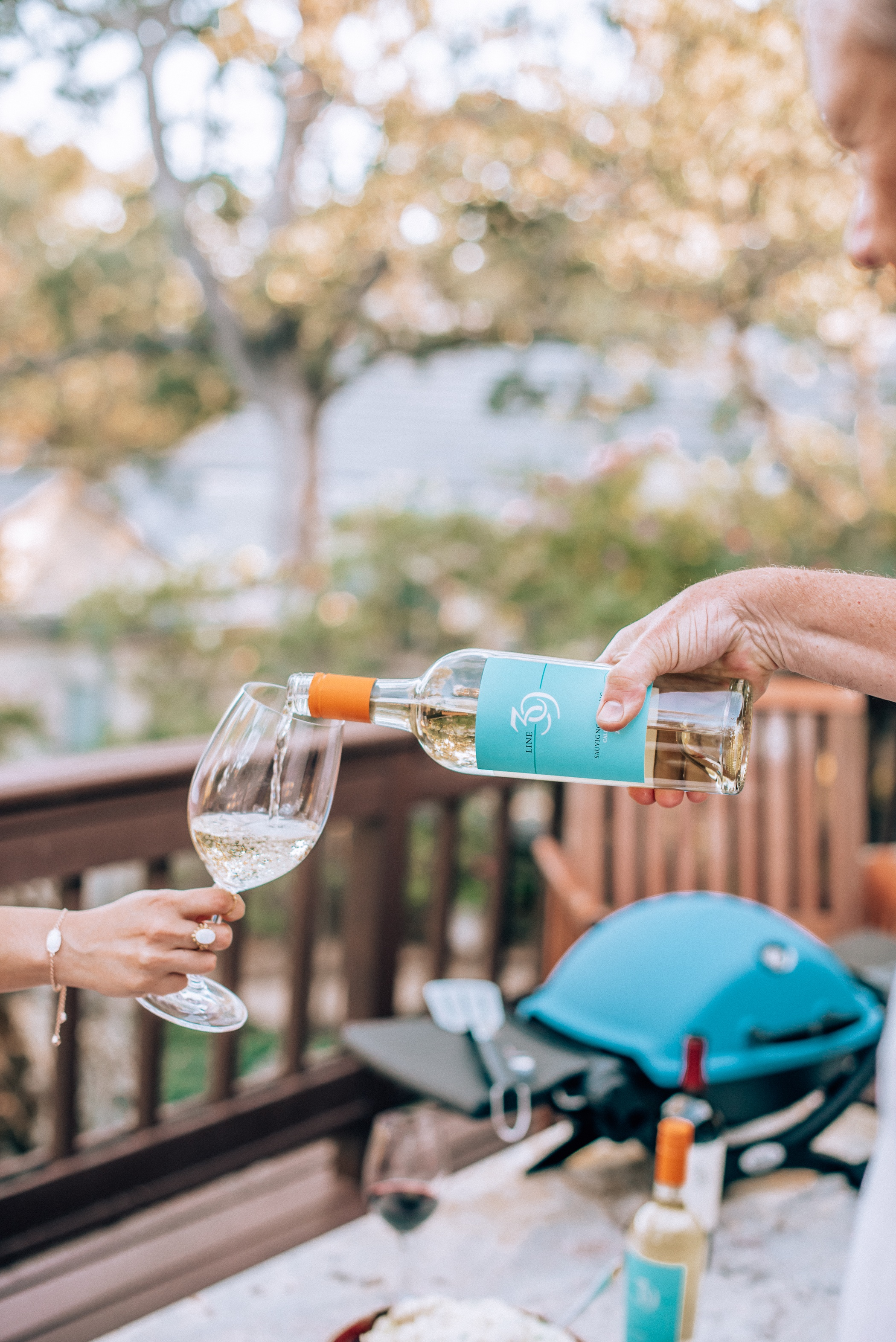 Summer BBQ with Line 39 Wine featured by popular San Francisco lifestyle blogger, WTFAb