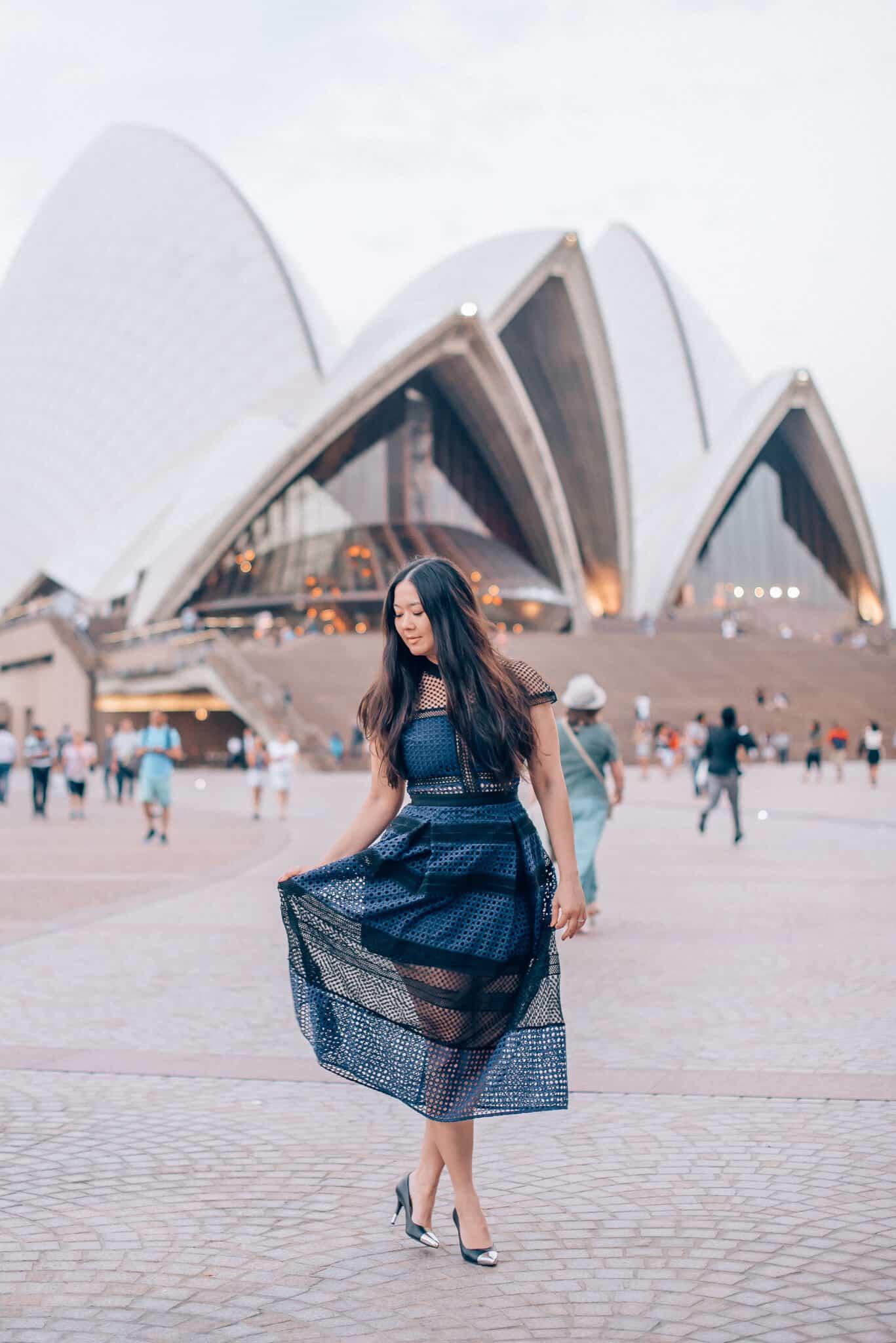 Self-Portrait Dress featured by popular San Francisco fashion blogger, WTFab