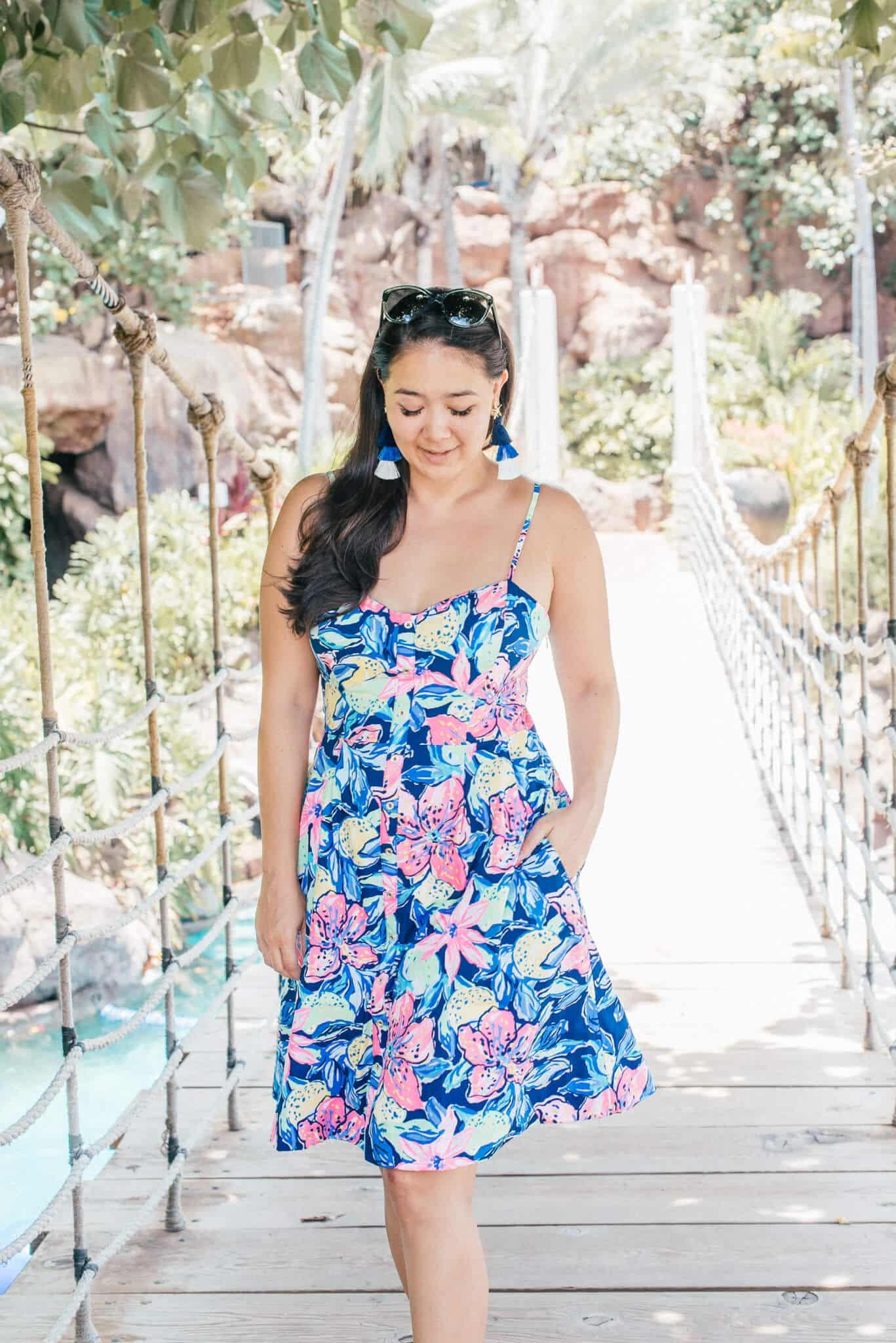 Lilly Pulitzer Dress featured by popular San Francisco fashion blogger WTFab