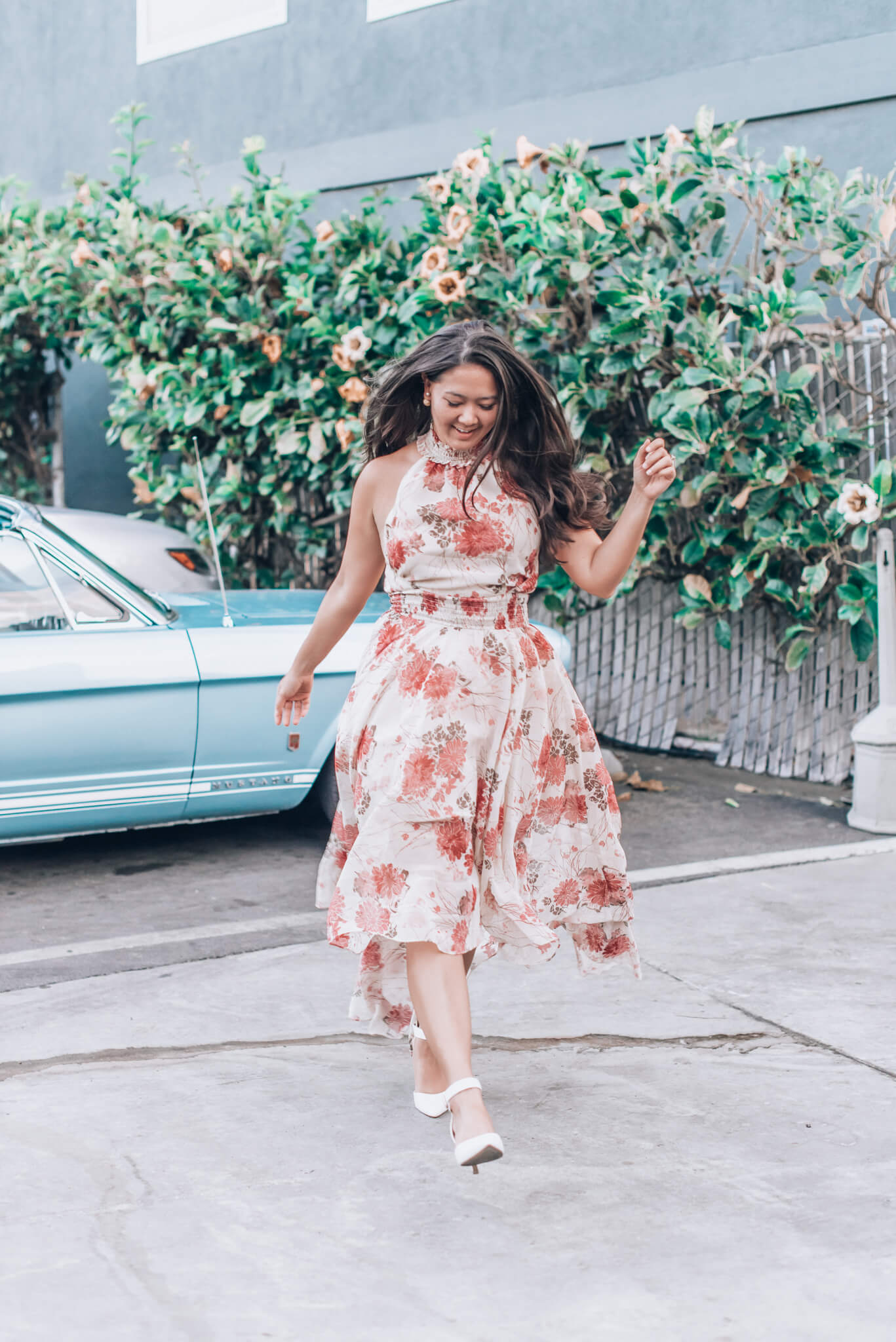 Vici: Floral Maxi Dress featured by popular San Francisco fashion blogger WTFab