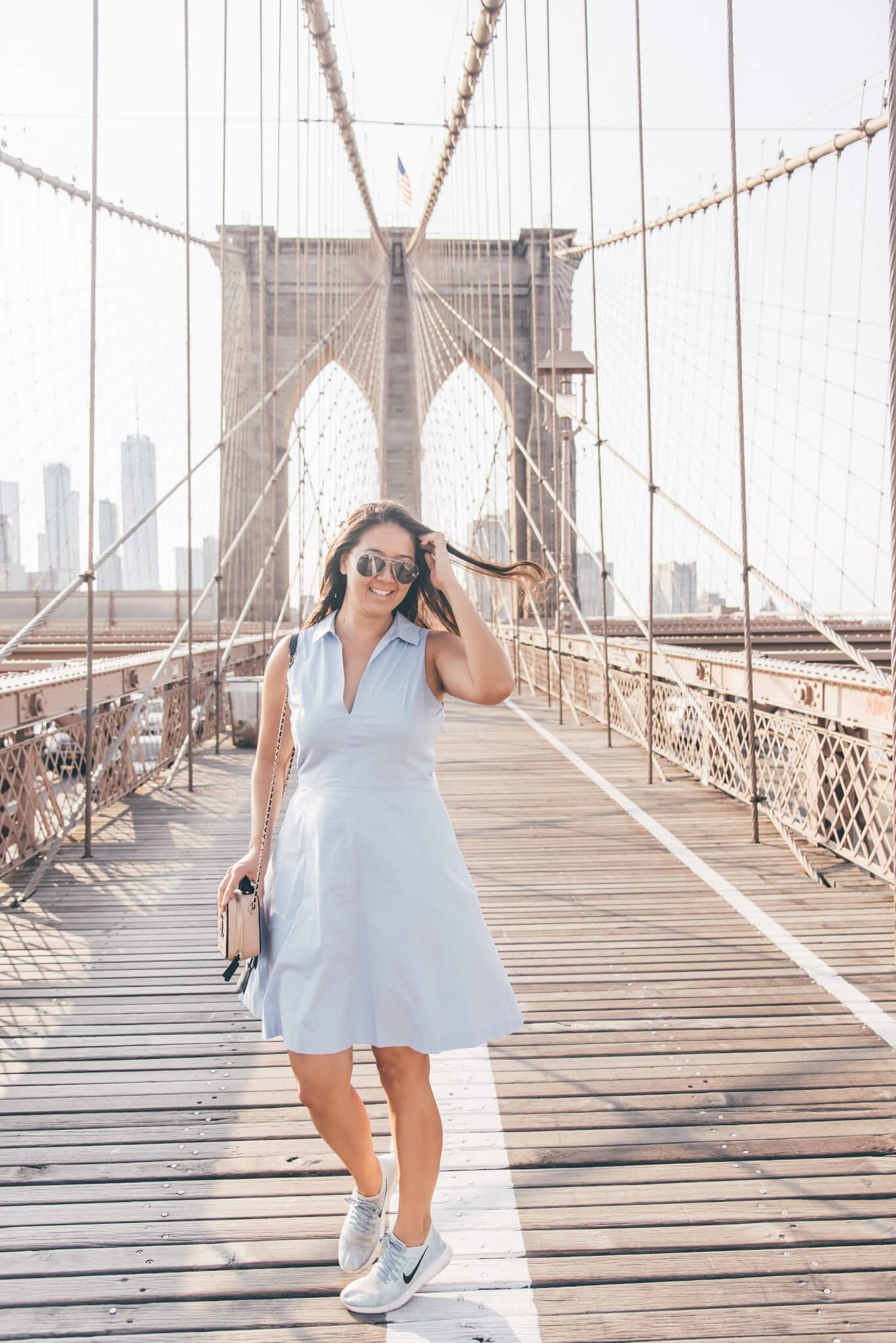 You feel like Brooklyn in the Summer - Casual Summer Outfit featured by popular San Francisco fashion blogger WTFab