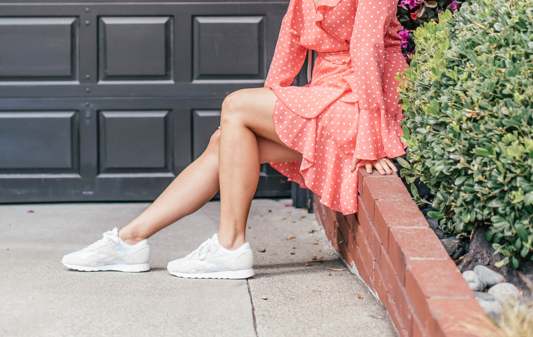 The Reebok Classics from DSW | New Trend | featured by popular San Francisco fashion blogger What The Fab