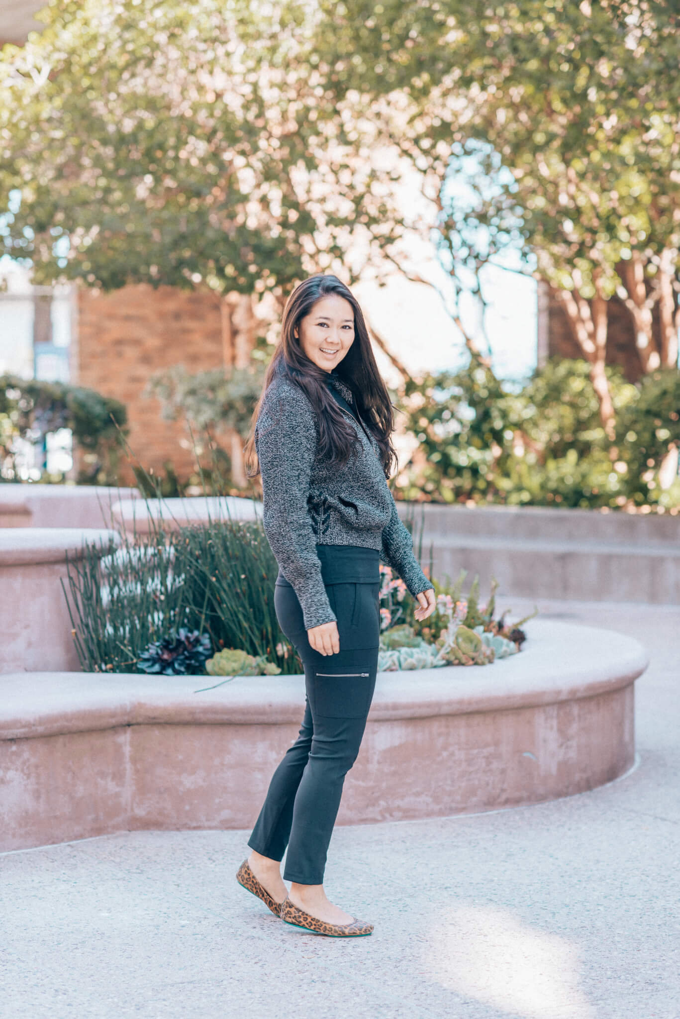 Moving On Up with Athleta featured by popular San Francisco fashion blogger What The Fab