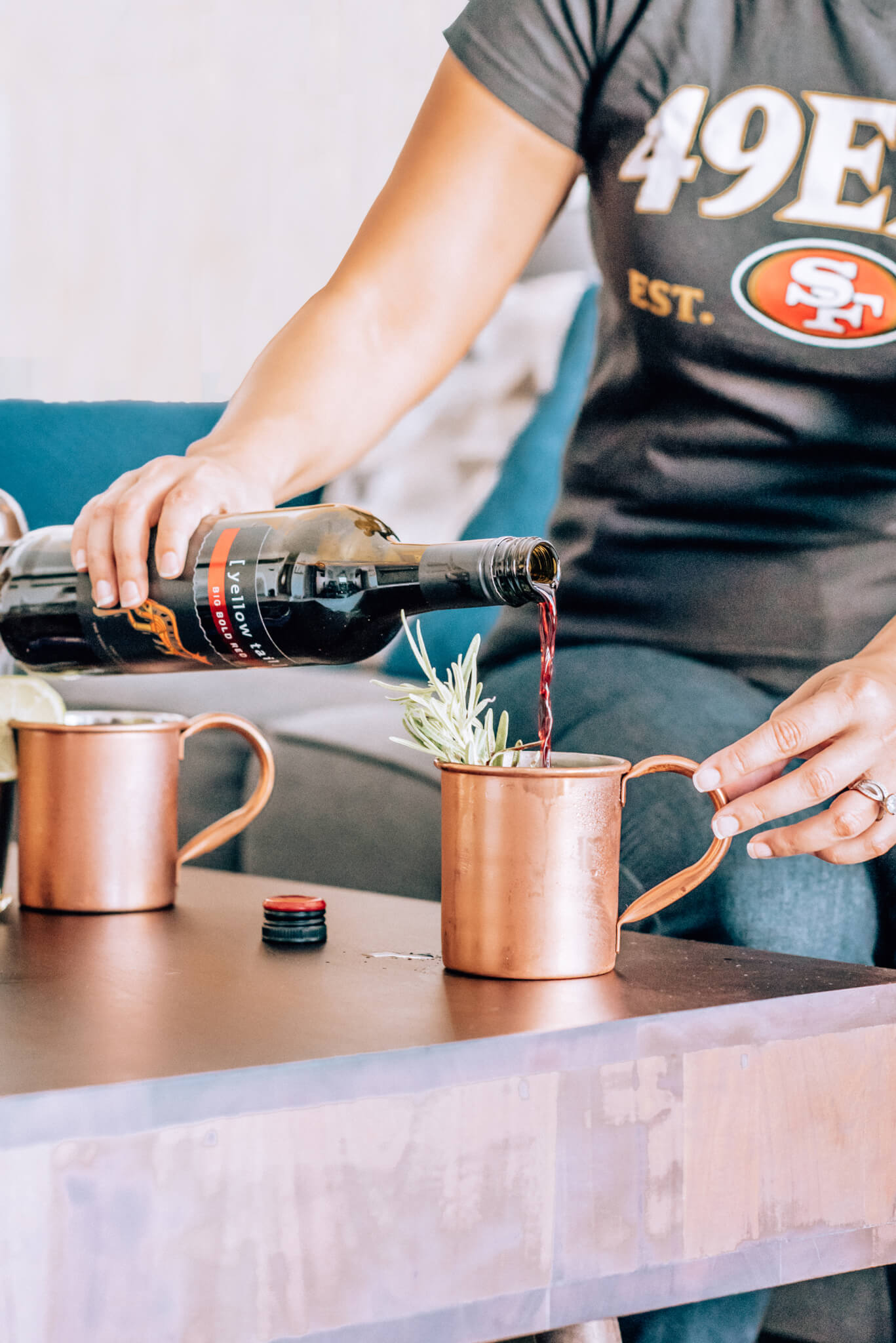 Crown Royal | Yellow Tail | Game Day | Football | Tailgate Cocktail Recipes for Football Season featured by popular San Francisco lifestyle blogger What The Fab
