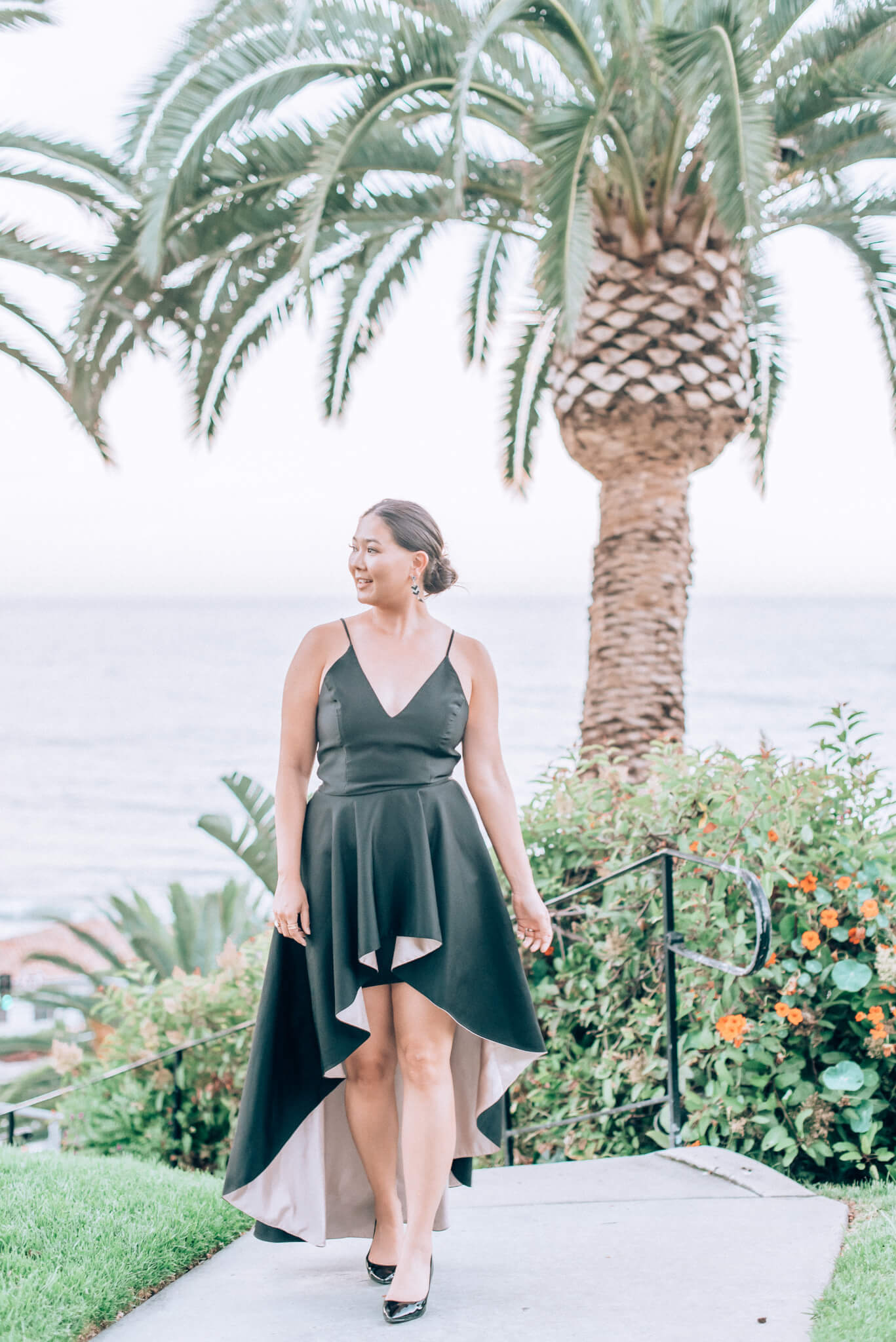 Nha Kahn Gown | Rent The Runway | Malibu Wedding featured by top San Francisco travel blog What The Fab