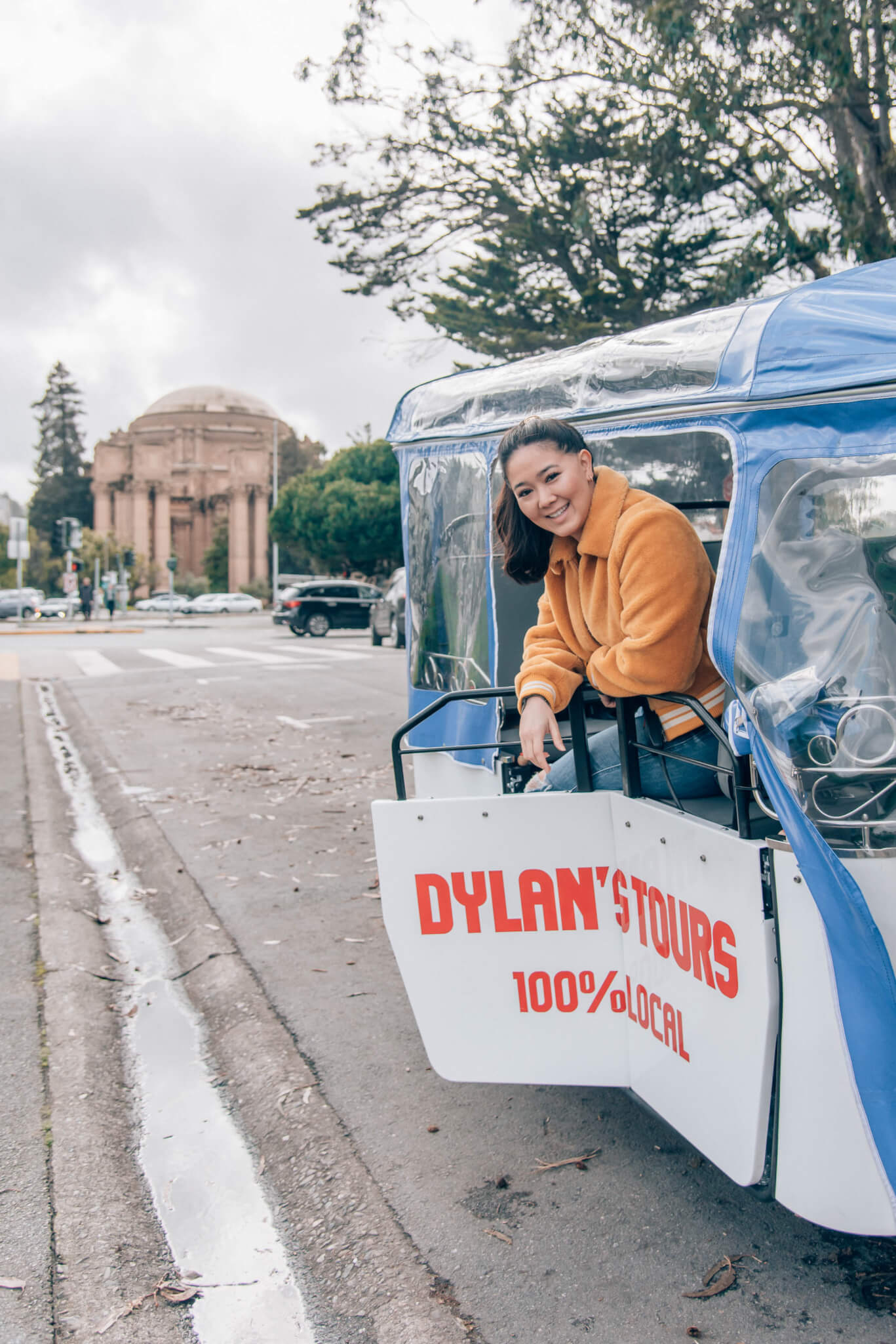 San Francisco e-tuktuk tour: Dylan's Tours