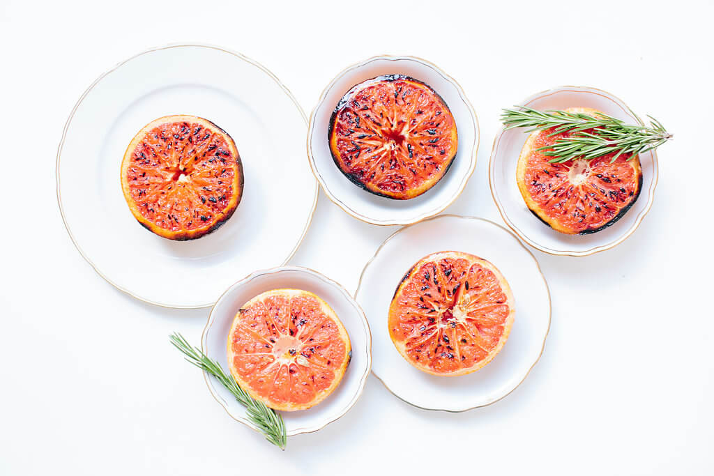 grapefruit brûlée recipe
