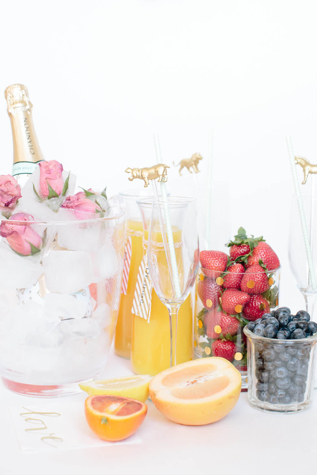 At-Home Mimosa Bar