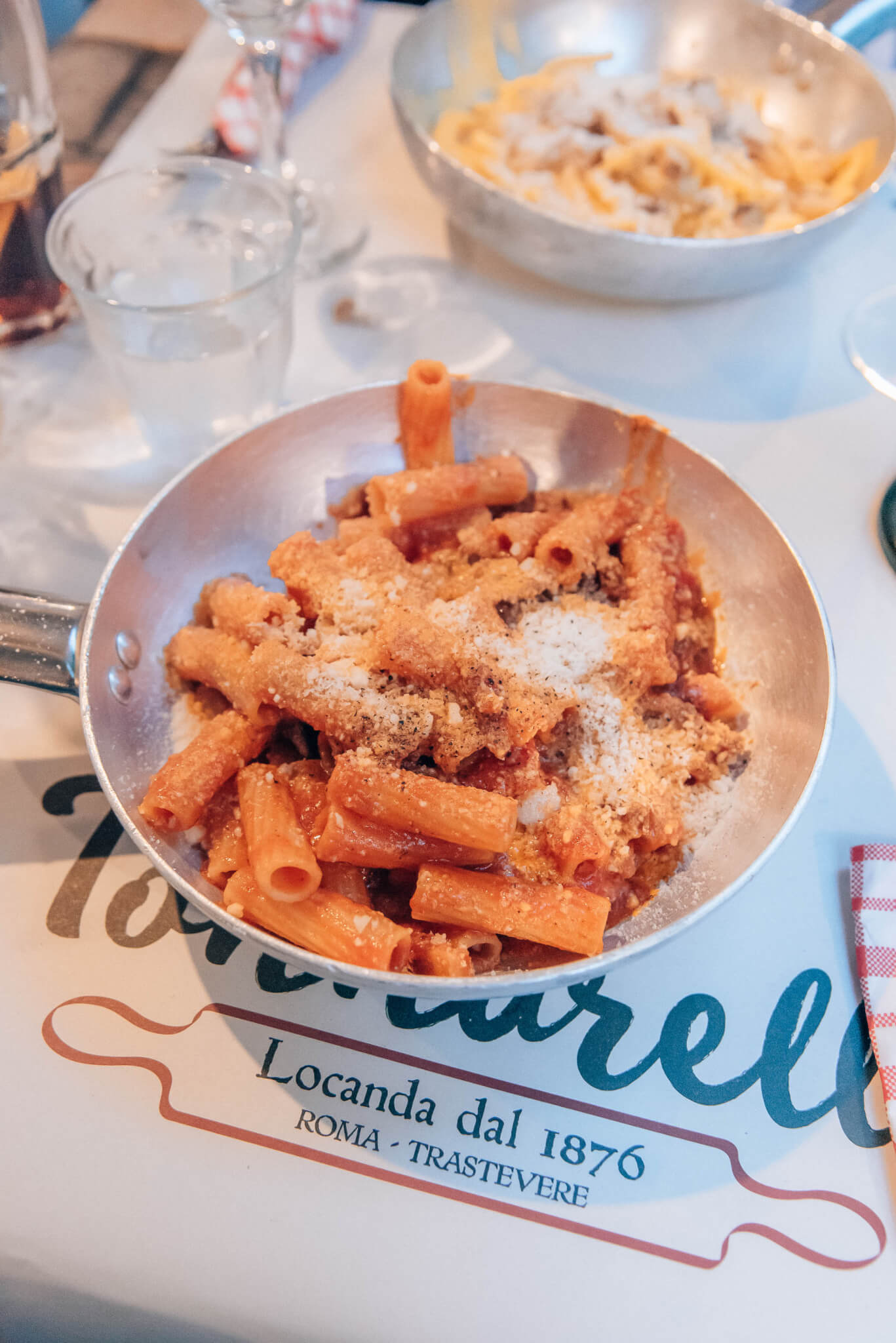 best pasta in Rome, by travel blogger What The Fab