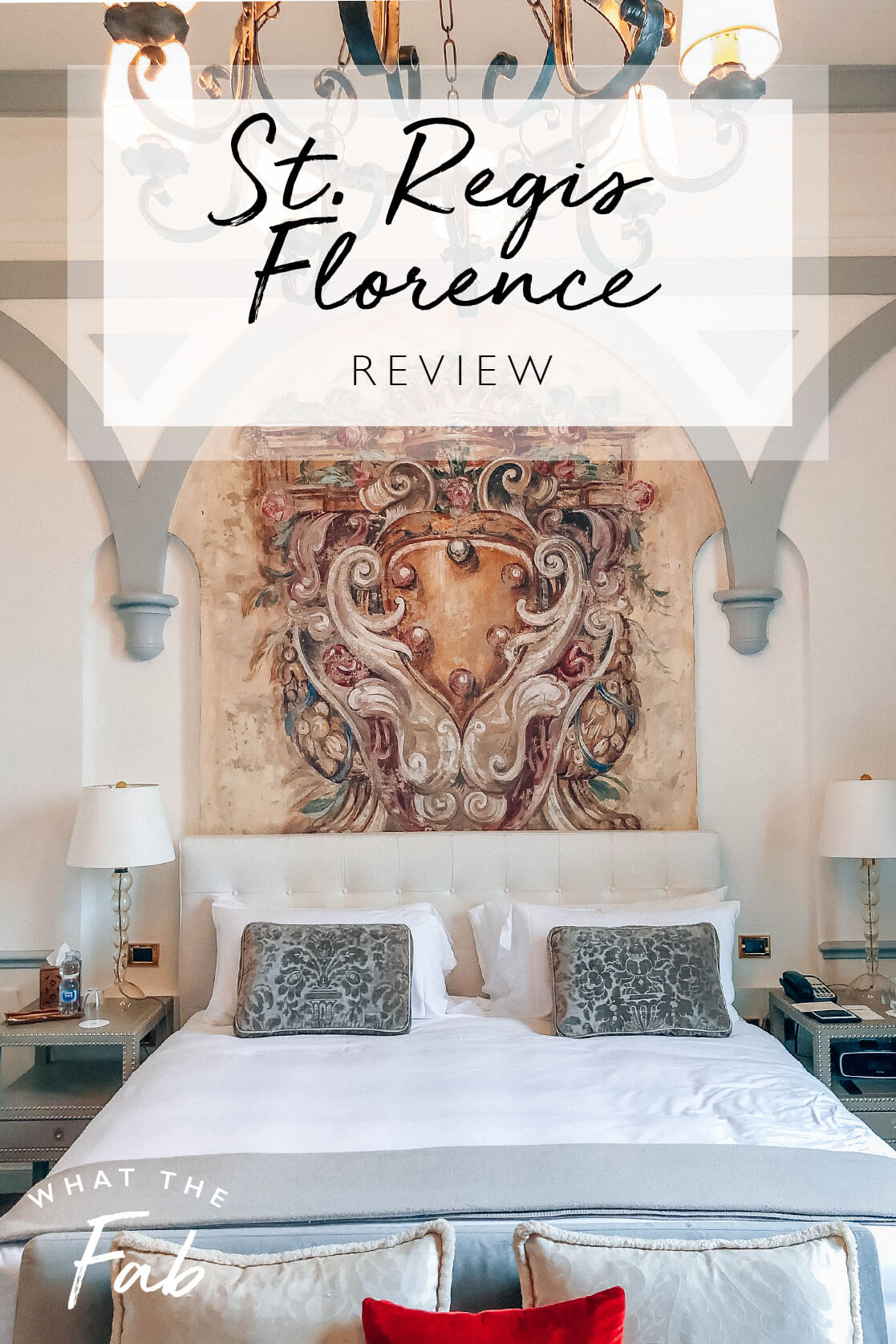 St Regis Florence review