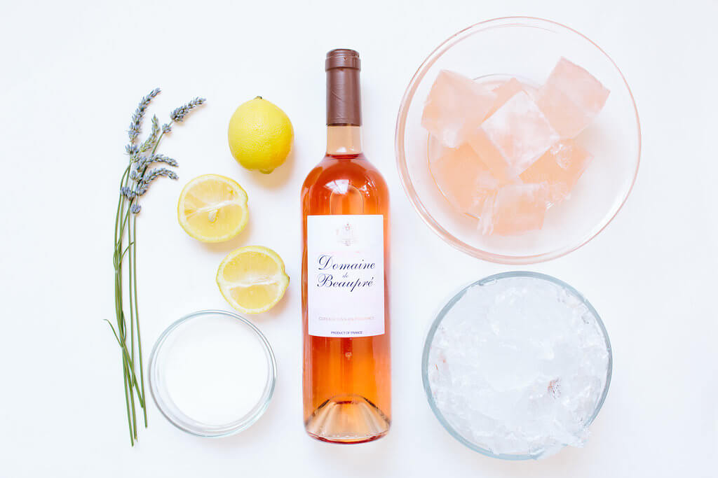 lavender frozé recipe