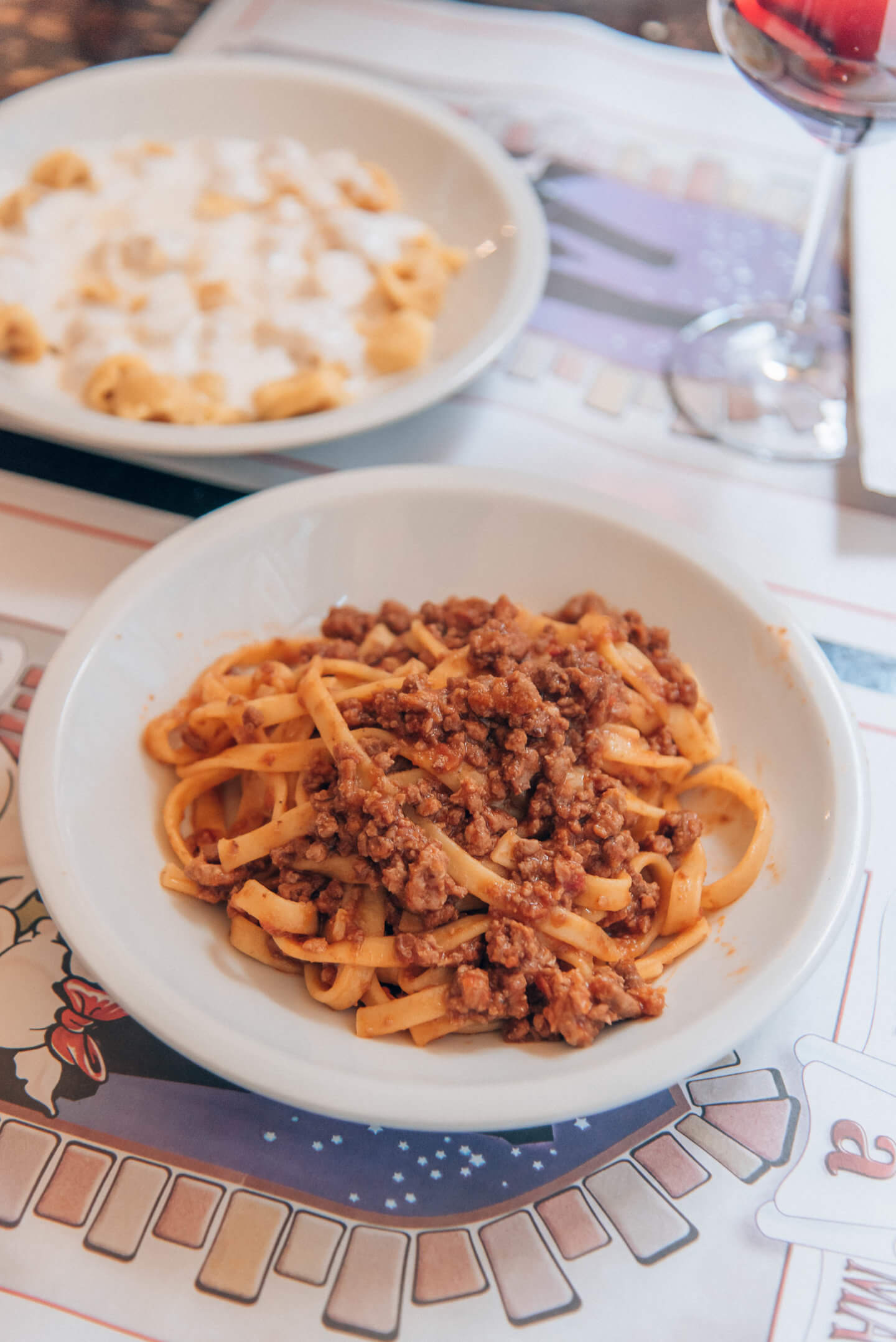 best pasta in Bologna, by travel blogger What The Fab