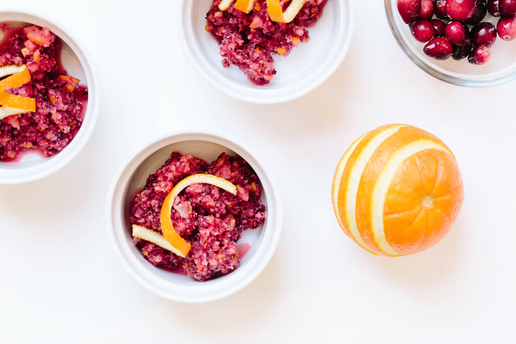 Cranberry and Orange Sauce Recipe