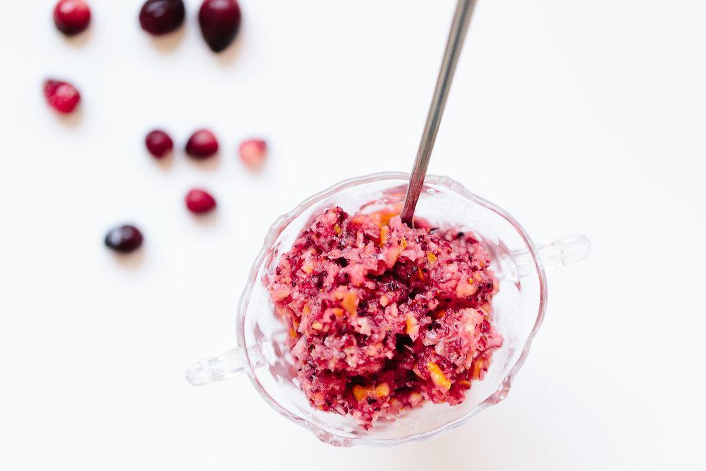 Cranberry and Orange Sauce