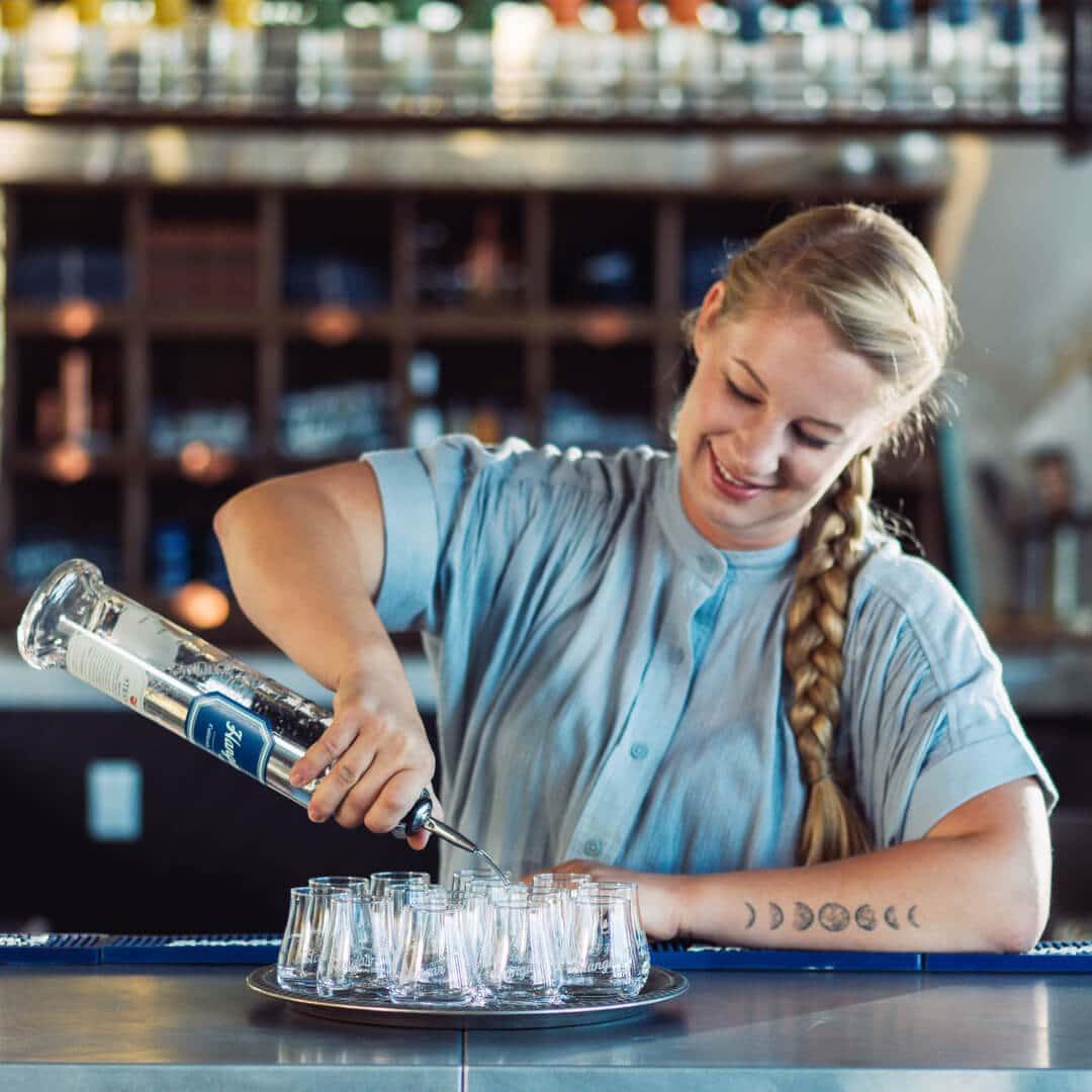 Interview with Caley Shoemaker, head distiller at Hangar 1 Vodka