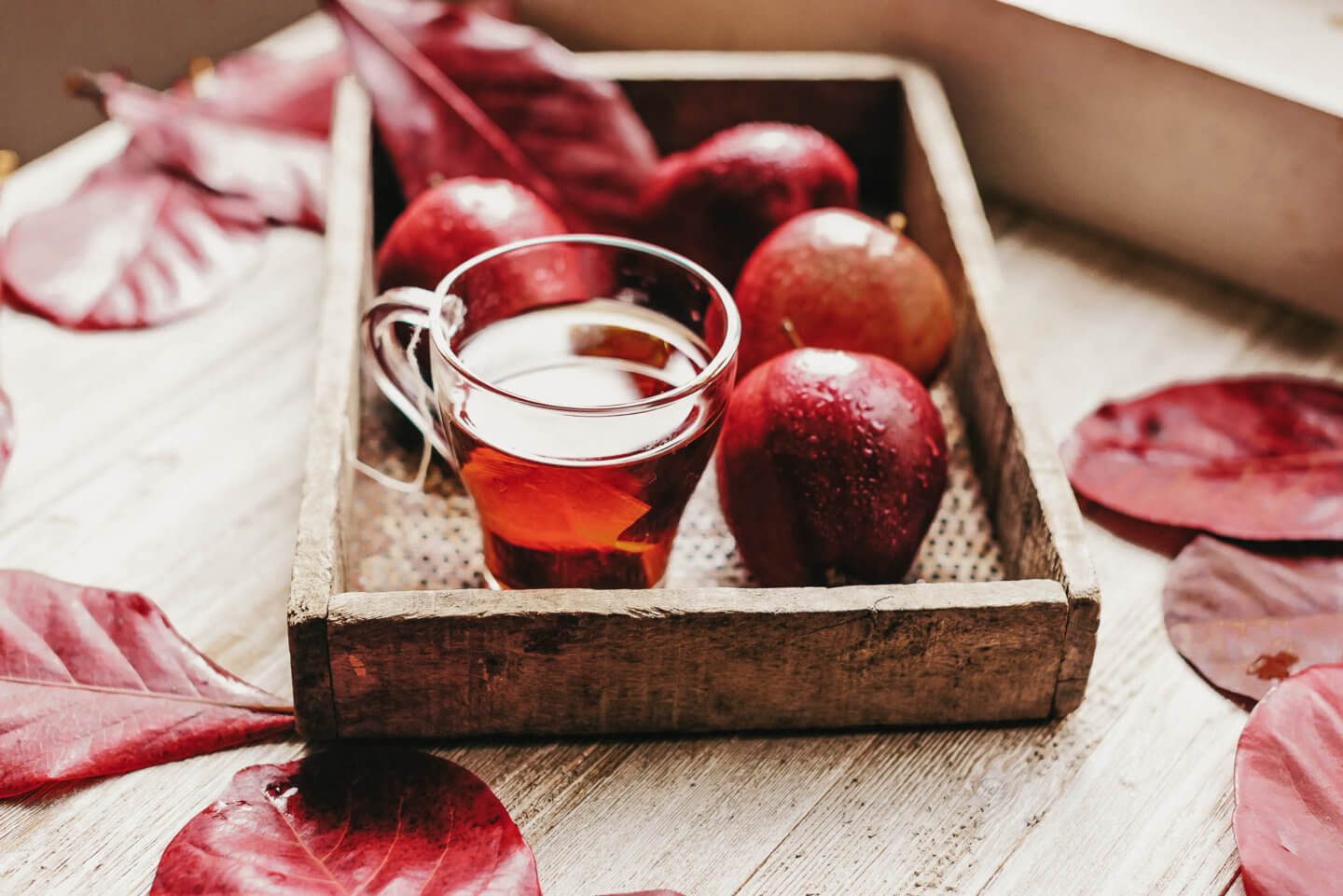 spiced cider with rum recipe