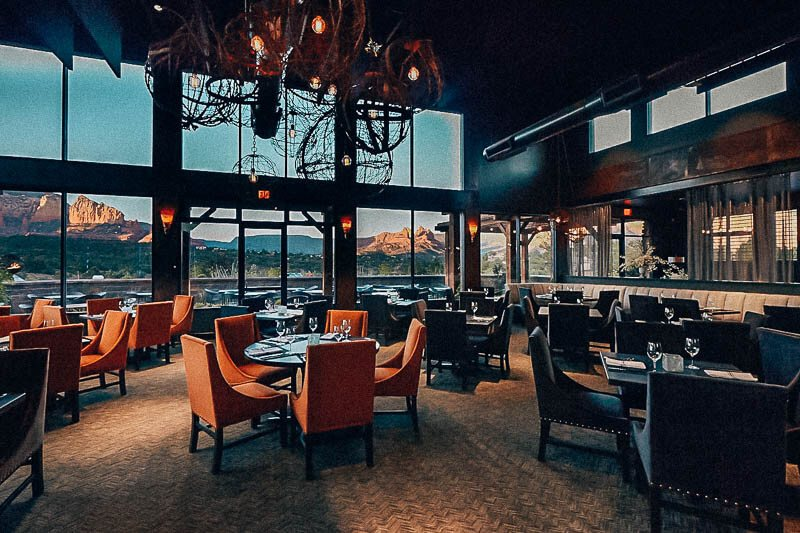 Best Sedona Restaurants with a View
