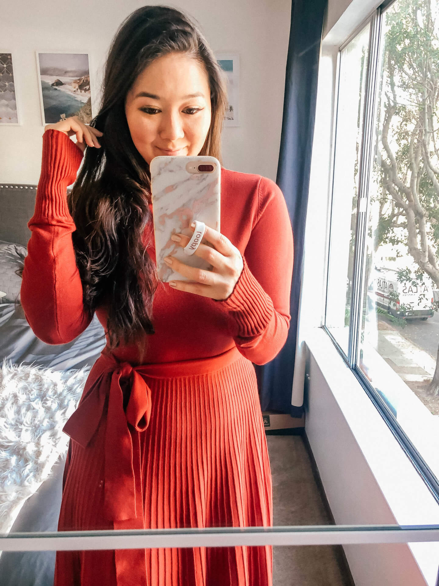 Cute and comfy Thanksgiving sweater dresses under $50