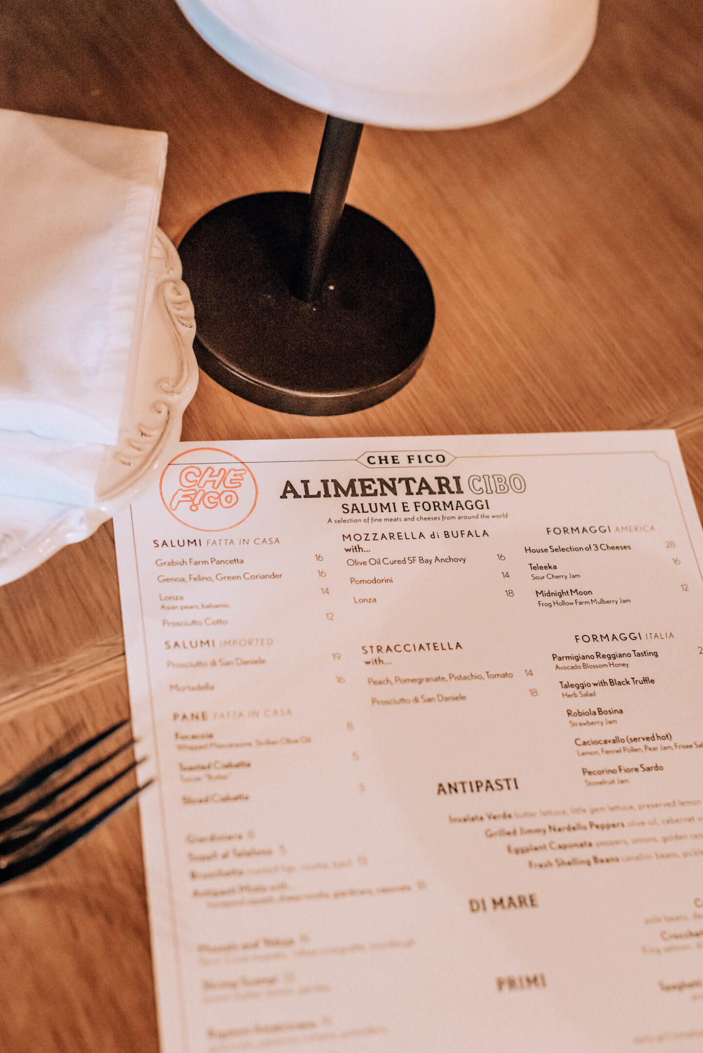Che Fico Alimentari review by blogger What The Fab