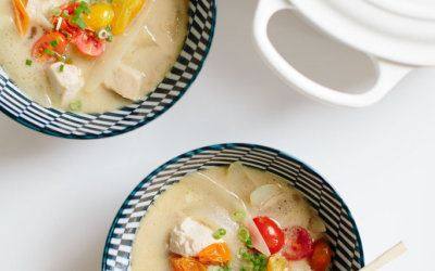 Thai Coconut Soup Recipe