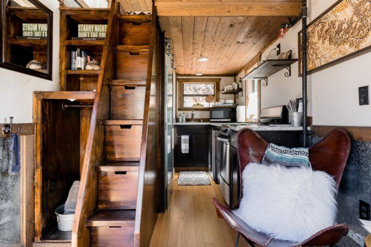 5. Tiny Cabin with Hot Tub