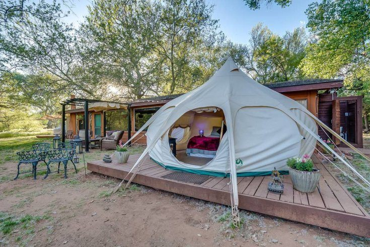 9. Cathedral Rock Glamping