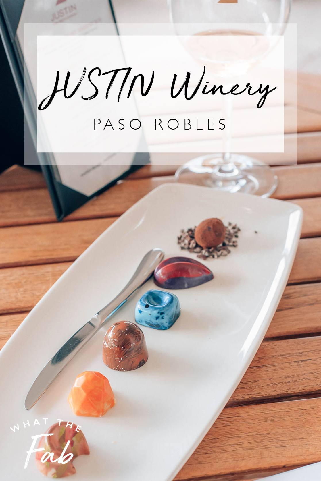 Justin Winery Paso Robles, CA