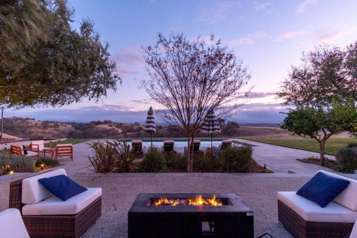 9. Estate with Stunning Vineyard Views and Pool