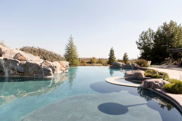 1. Guest House with Pool