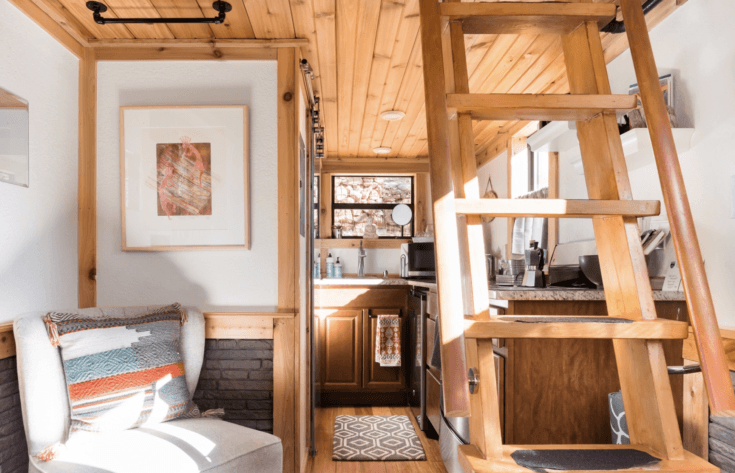 6. Tiny House with Canyon Views