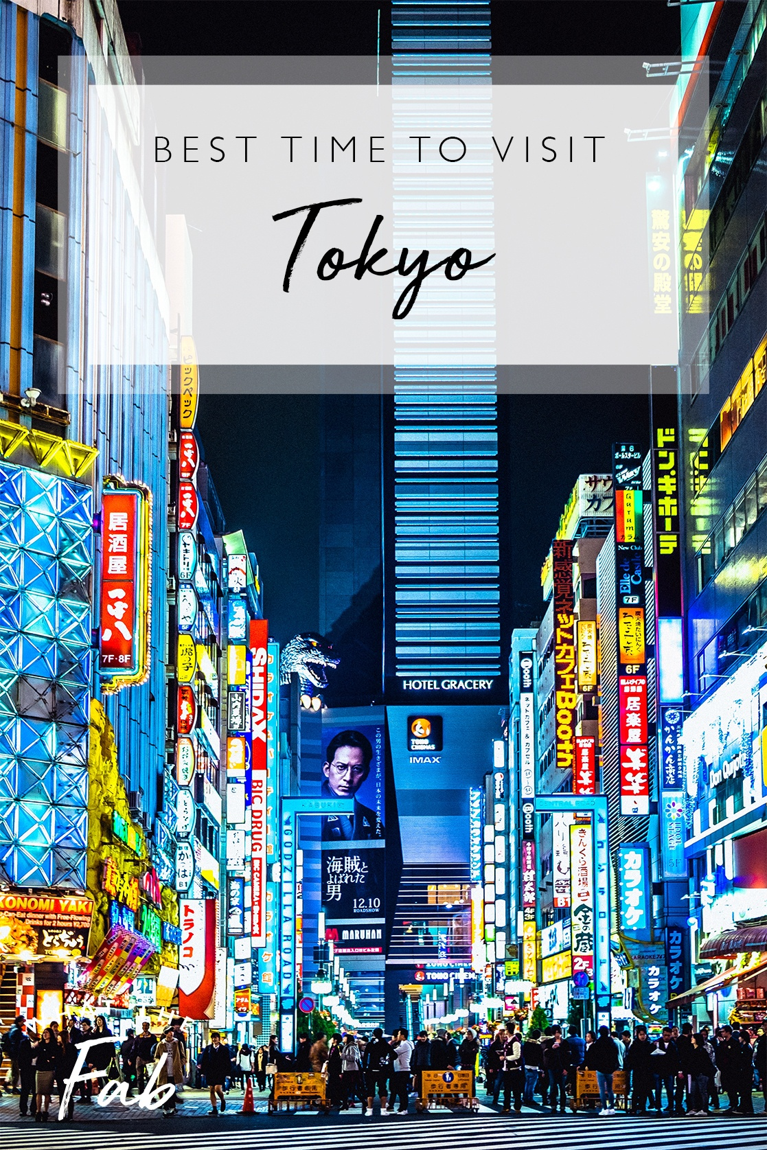 The best time to visit Tokyo, by travel blogger What The Fab