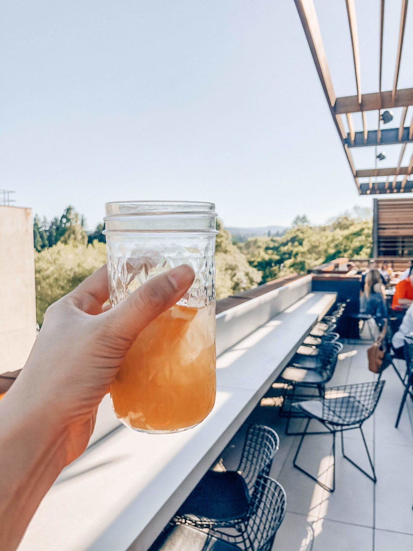 Harmon Guest House in Healdsburg review, by travel blogger What The Fab
