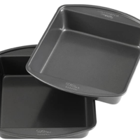 Non-Stick 8-Inch Square Cake Pans, Set of 2