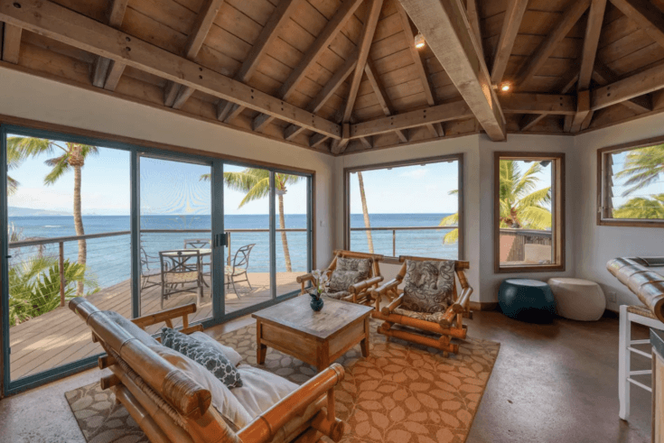 8. Oceanfront villa with private pool