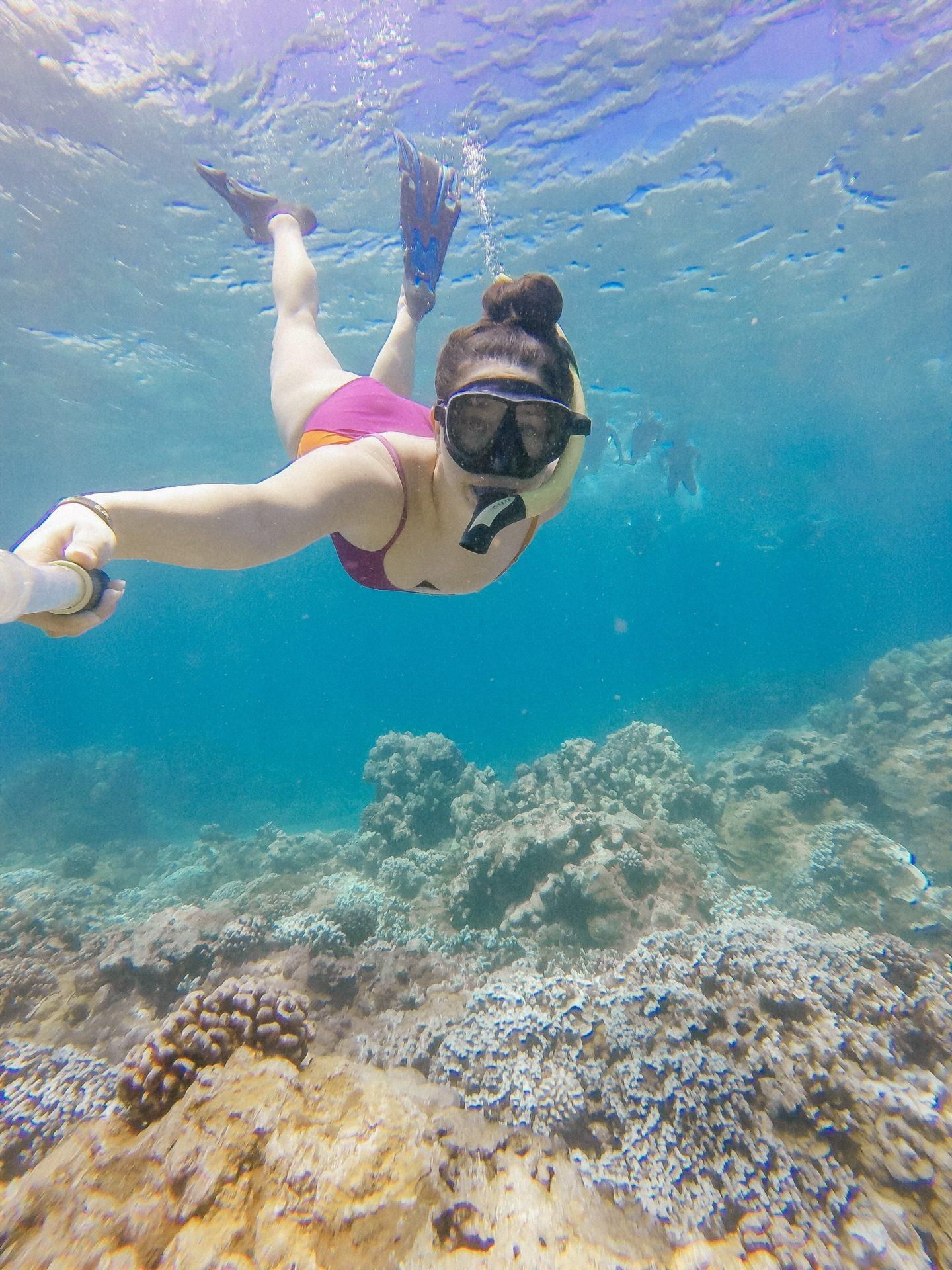 Where to snorkel on Maui, by lifestyle blogger What The Fab